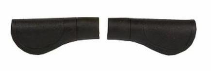 VWP Handvat Comfort 120 mm Zwart/Grijs Per Paar