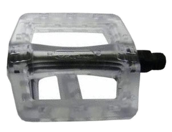 Korting Vwp Platformpedaal Bmx Clear 9 16 Inch Transparant Per Set