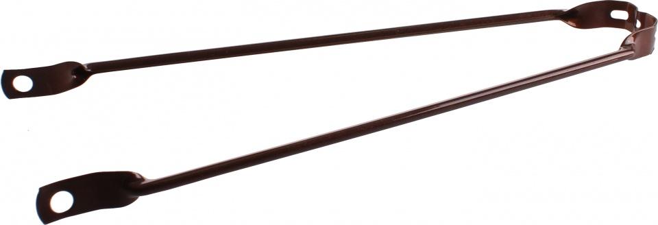 VWP spatbordstang 28 inch staal metallic bruin per stuk