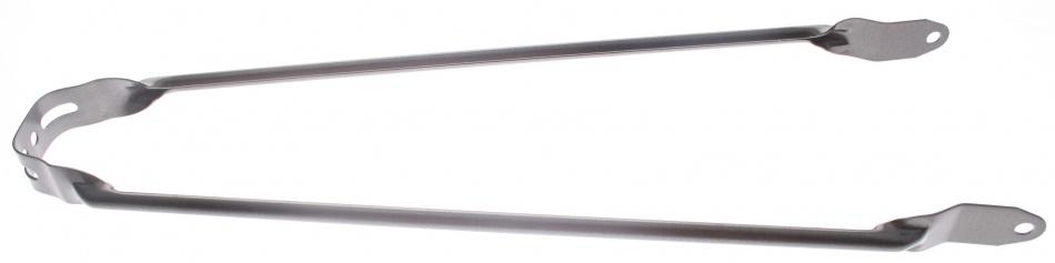 VWP Spatbordstang Achter PAD Bevestiging Staal 28 Inch Grijs