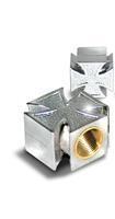 VWP Ventieldop Set Cross AV Zilver Per 2 Stuks