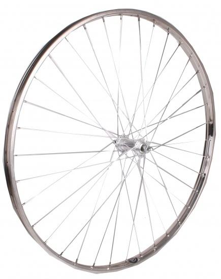 VWP Voorwiel 28 x 1 1/2 aluminium 36G zilver