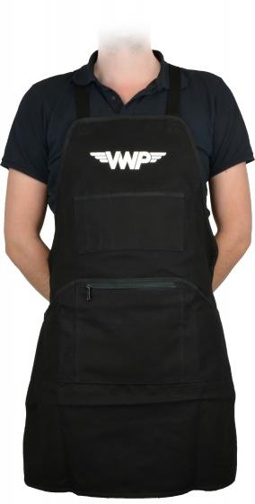 VWP werkplaats schort unisex one size zwart