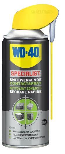 Korting Wd 40 Contactspray Specialist 250 Ml Zwart geel