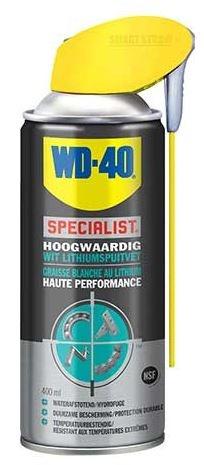 WD 40 WD 40 Specialist Wit Lithiumspuitvet 400 ml