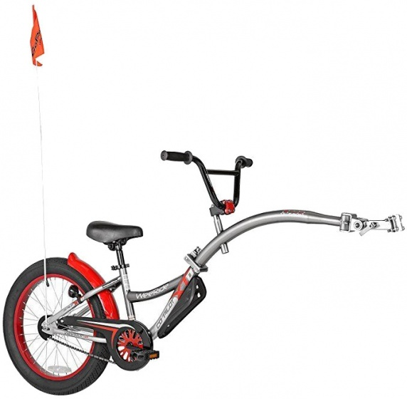 WeeRide Co pilot XT 20 Inch Junior Grijs