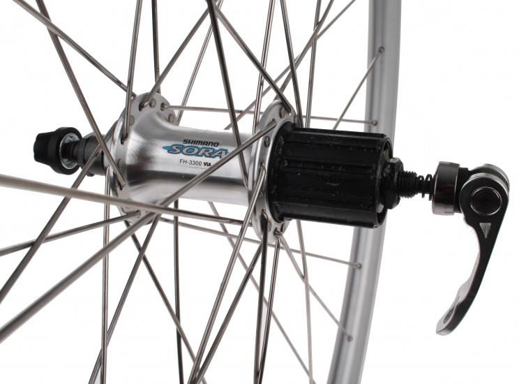 Weinmann Achterwiel X Plorer draad velgrem 28 inch 32S zilver