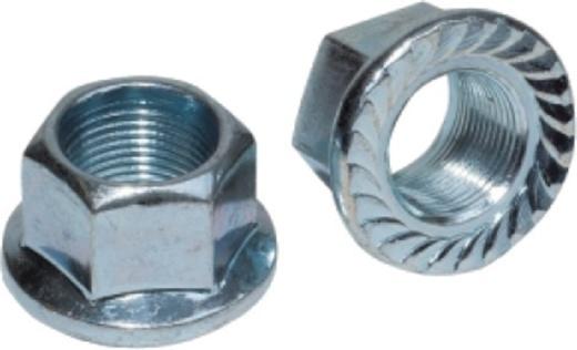Weldtite asmoeren met passend ring 5/16 inch zilver 2 stuks