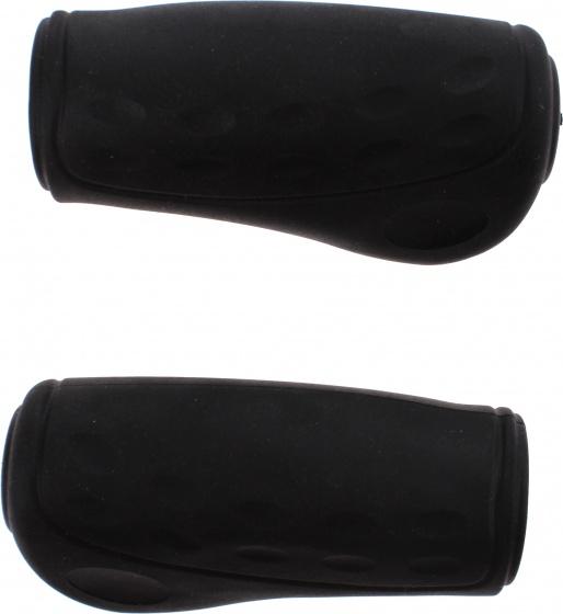 Westphal handvatten 9 cm zwart per paar