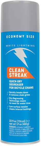 White Lightning fietsreinigingsmiddel Clean Streak 680 ml