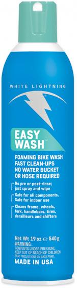 White Lightning reinigingsschuim Easy Wash 560 ml blauw