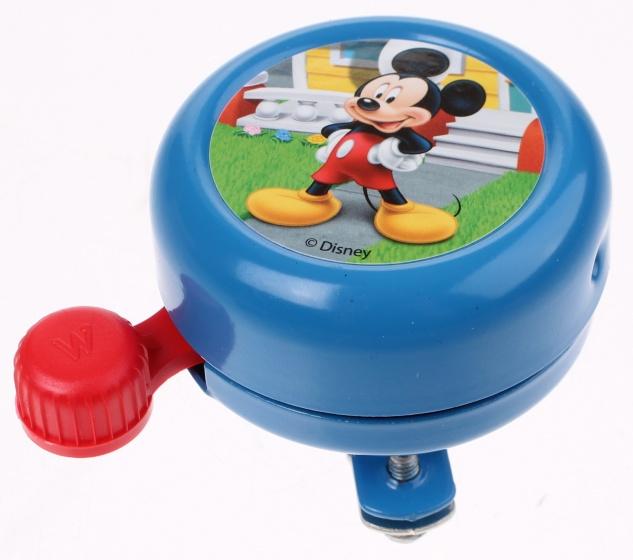 Widek fietsbel Disney Mickey Mouse 55 mm blauw