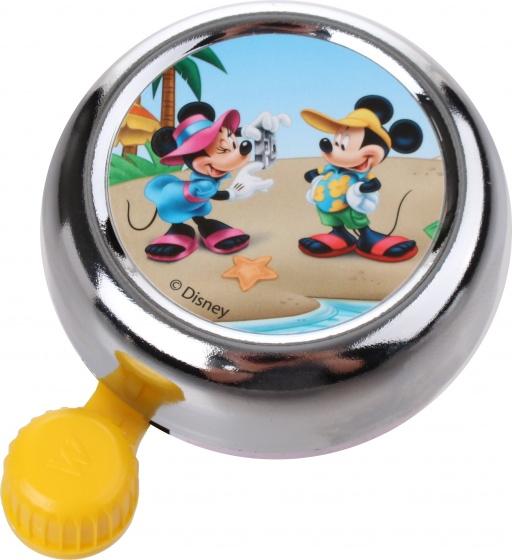 Widek fietsbel Disney Mickey Mouse 55 mm chroom/geel