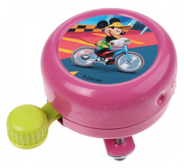 Widek - Fietsbel Disney Mickey Mouse 55 Mm Roze