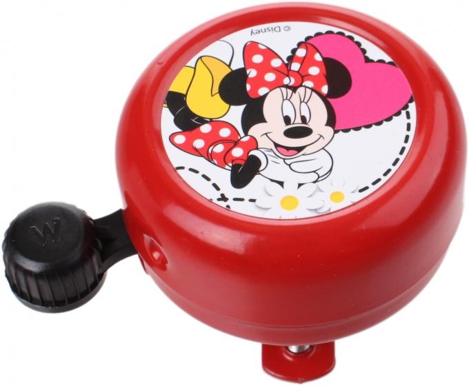 Widek fietsbel Disney Minnie Mouse 55 mm rood
