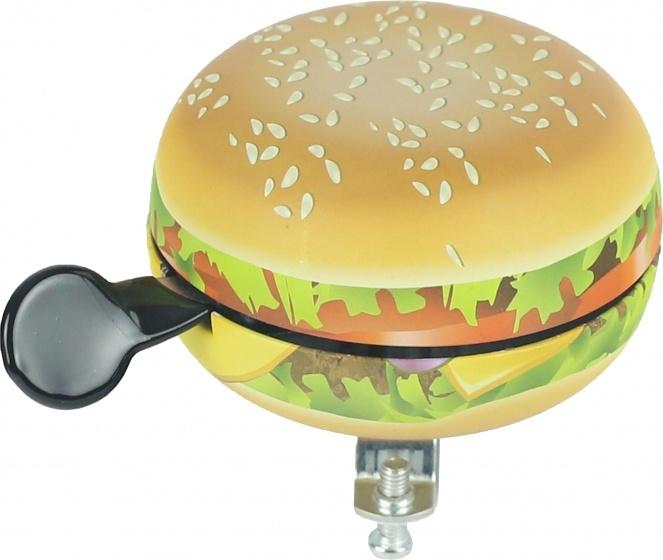 Widek fietsbel Hamburger lichtbruin 80 mm