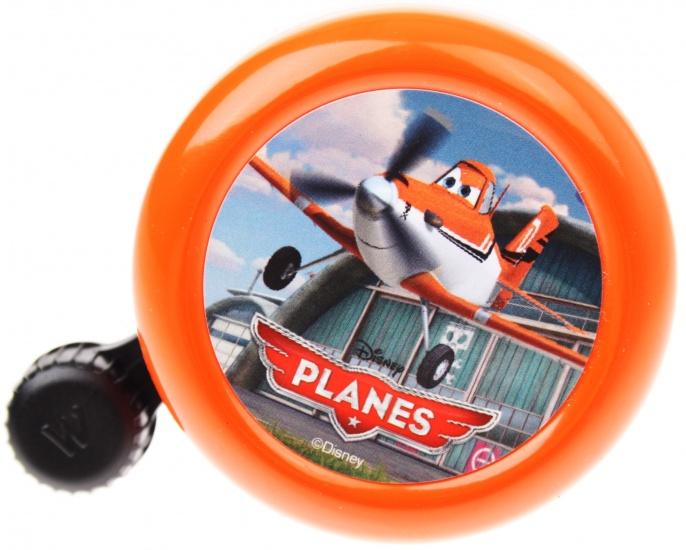 Widek fietsbel Disney Planes 55mm oranje