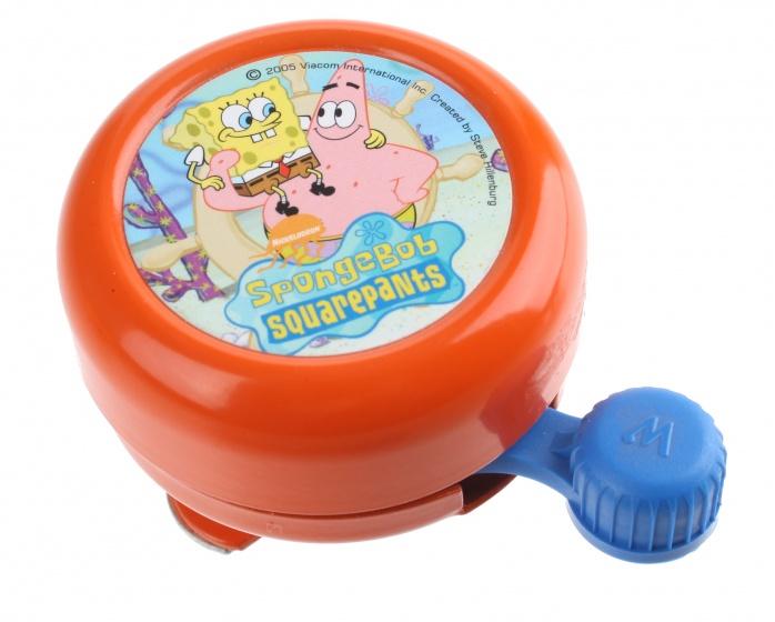Widek fietsbel Spongebob 55 mm oranje