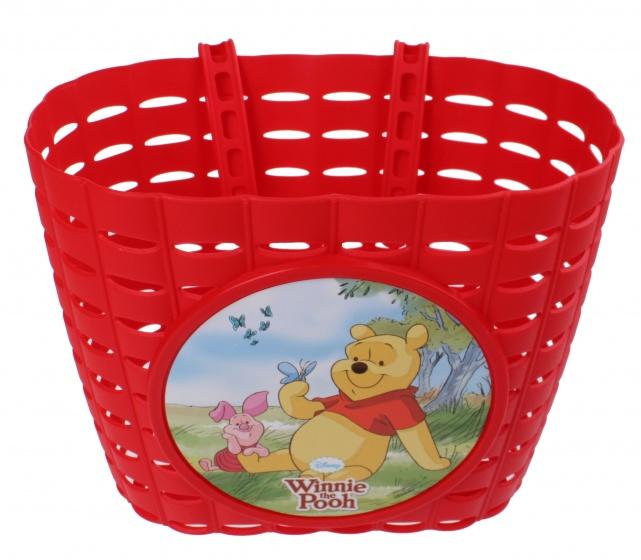 Widek fietsmand Winnie de Pooh en knorretje 3,5 liter rood