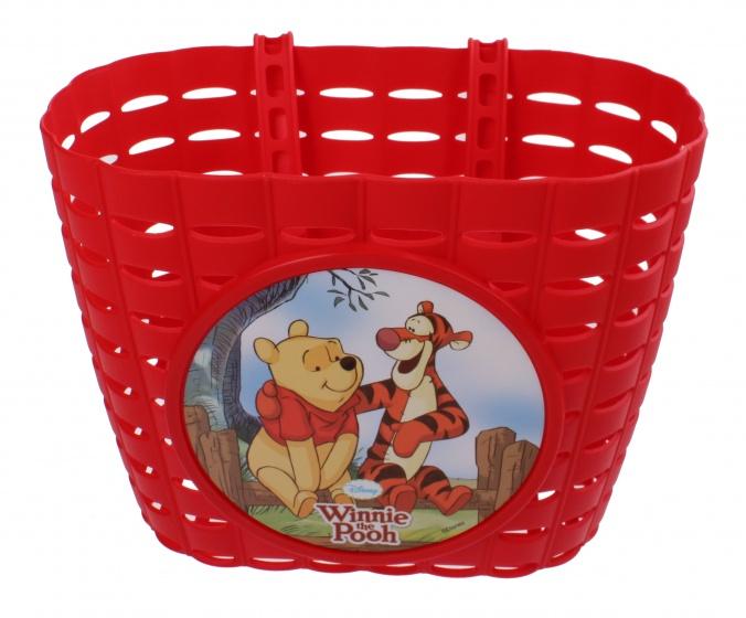 Widek fietsmand Winnie de Pooh en tijgertje 3,5 liter rood