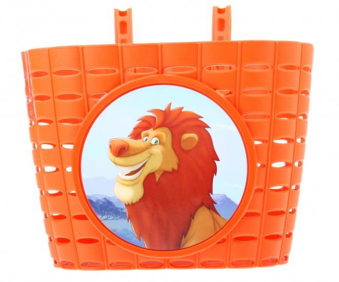 Widek Kinderfietsmandje PVC Lion King Oranje
