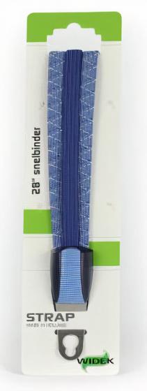 Widek snelbinders Strap 28 inch RVS/elastaan lichtblauw