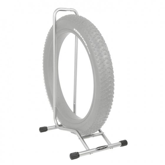 Willworkx Fietsenrek Superstand Fatbike verstelbaar zilver
