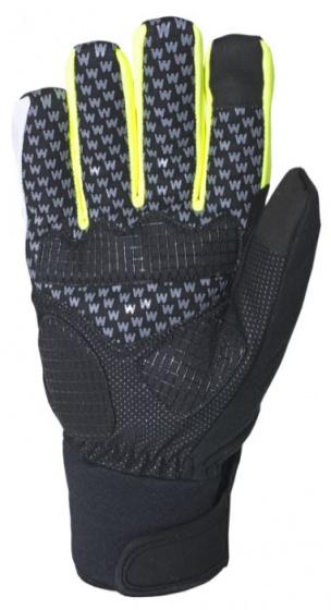 Wowow fietshandschoenen Atlantis polyamide geel/zwart maat 3XL