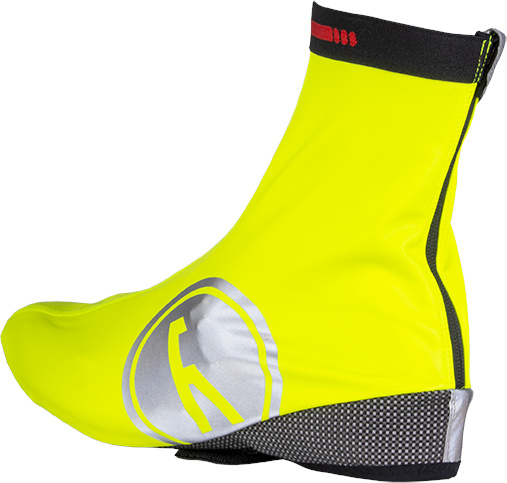 Wowow overschoenen Raceviz Artic 2.0 polyester geel maat 46 48