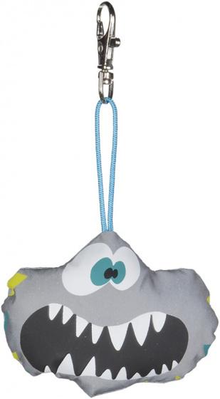 Wowow sleutelhanger Crazy Monster Kris 10 cm katoen grijs