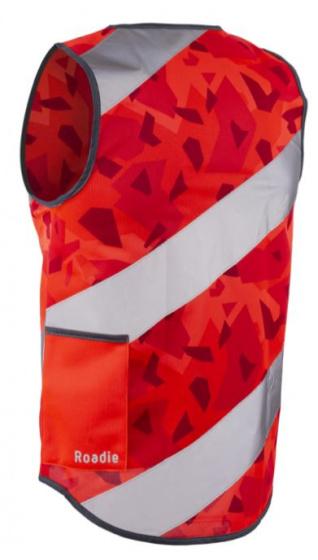 Wowow veiligheidshesje Rysy polyester rood maat XXL