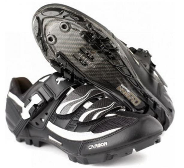 XLC Herenschoenen ATB Pro Lite Zwart Zilver Maat 40 Onderdelen & Accessoires Zwart Fietsschoenen Voor 16:00 uur besteld, dezelfde dag verzonden