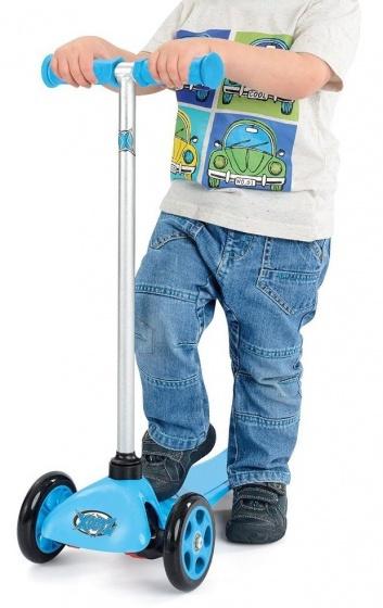 Xootz 3 wiel kinderstep Xoo Mini Junior Voetrem Blauw
