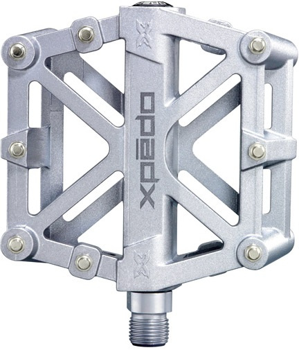 Xpedo platformpedaal MX Force Xmx3mc magnesium zilver