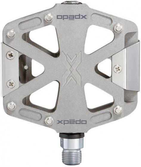 Xpedo platformpedalen MX Force 2 magnesium zilver