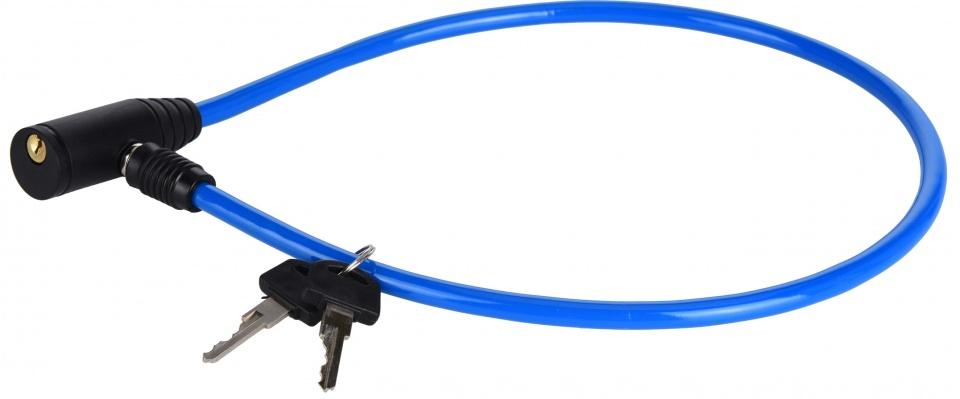 XQ Max kabelslot met sleutels blauw 65 cm
