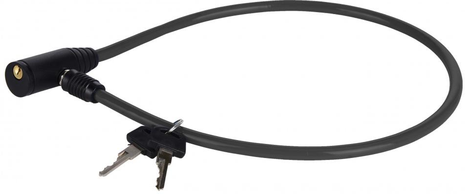 XQ Max kabelslot met sleutels zwart 65 cm