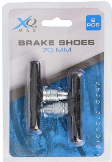 XQ Max remblokkenset zwart 70 mm 2 stuks