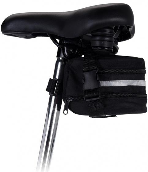 XQ Max Zadeltas zwart 17,5 cm