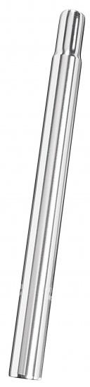 Ergotec Zadelpen vast kaars 27,0 x 300 mm aluminium zilver