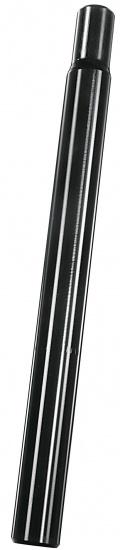 Ergotec Zadelpen vast kaars 27,2 x 250 aluminium zwart