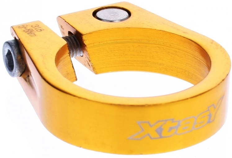 Xtasy Zadelpenklem SCI 105 31,8 mm goud