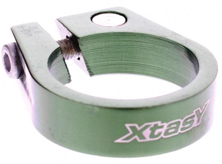 Xtasy Zadelpenklem SCI 105 31,8 mm groen