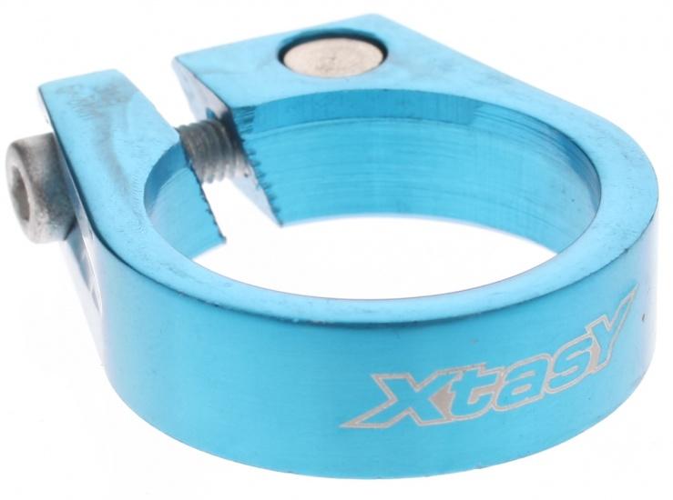 Xtasy Zadelpenklem SCI 105 31,8 mm blauw