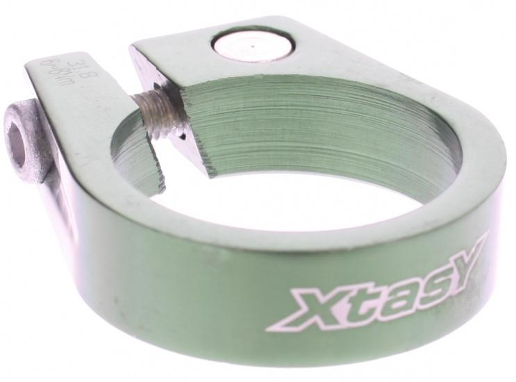 Xtasy Zadelpenklem SCI 105 34,9 mm aluminium groen