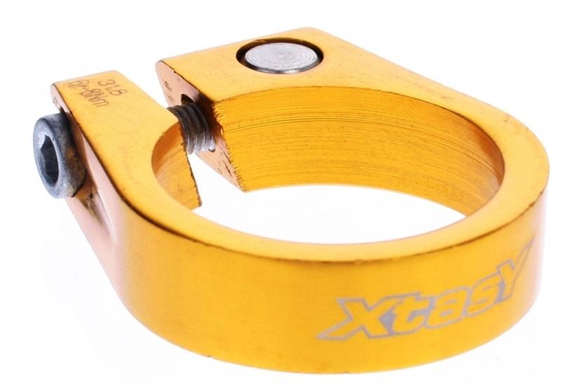 Xtasy Zadelpenklem SCI 105 34,9 mm goud
