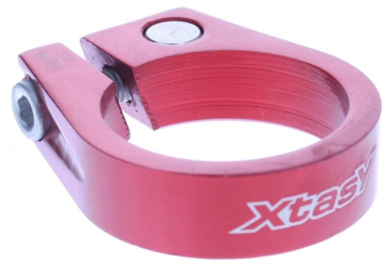 Xtasy Zadelpenklem SCI 105 34,9 mm rood