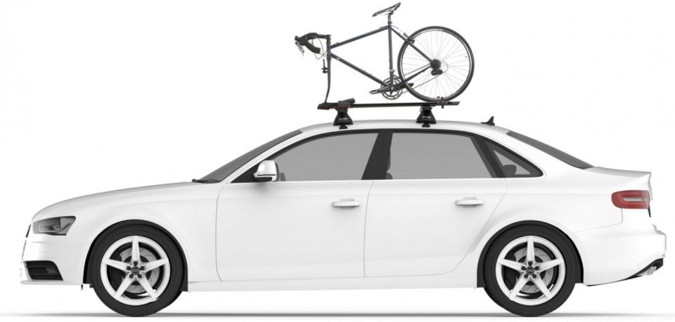 Yakima fietsendrager dak Highspeed 1 fiets grijs