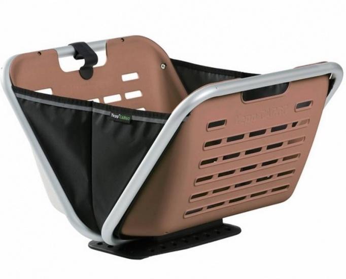 Yepp Cargo Boxx Voordraagmand Bruin