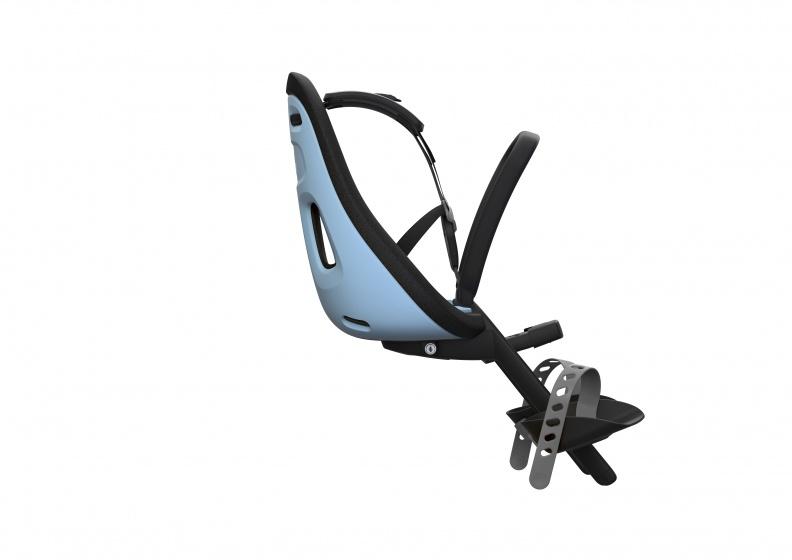 Yepp fietszitje voor Nexxt Mini Aquamarine lichtblauw/zwart